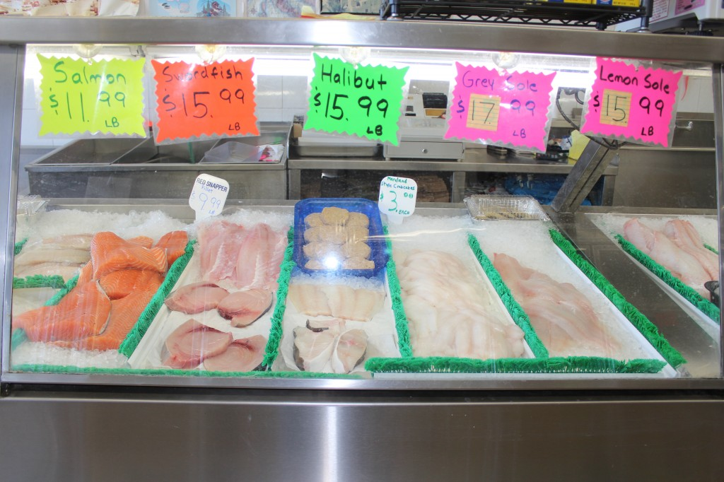 Crossbay seashell market for Fresh fish store